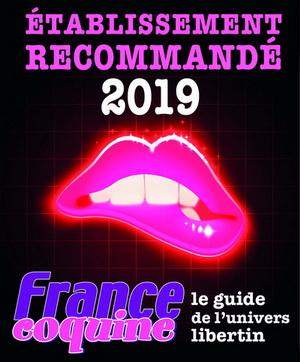 etablissement recommandé par France Coquine 2019