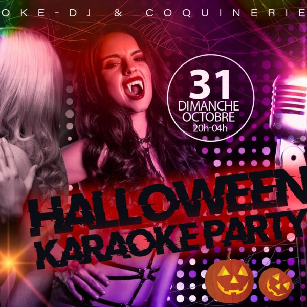 Halloween karaoke Party